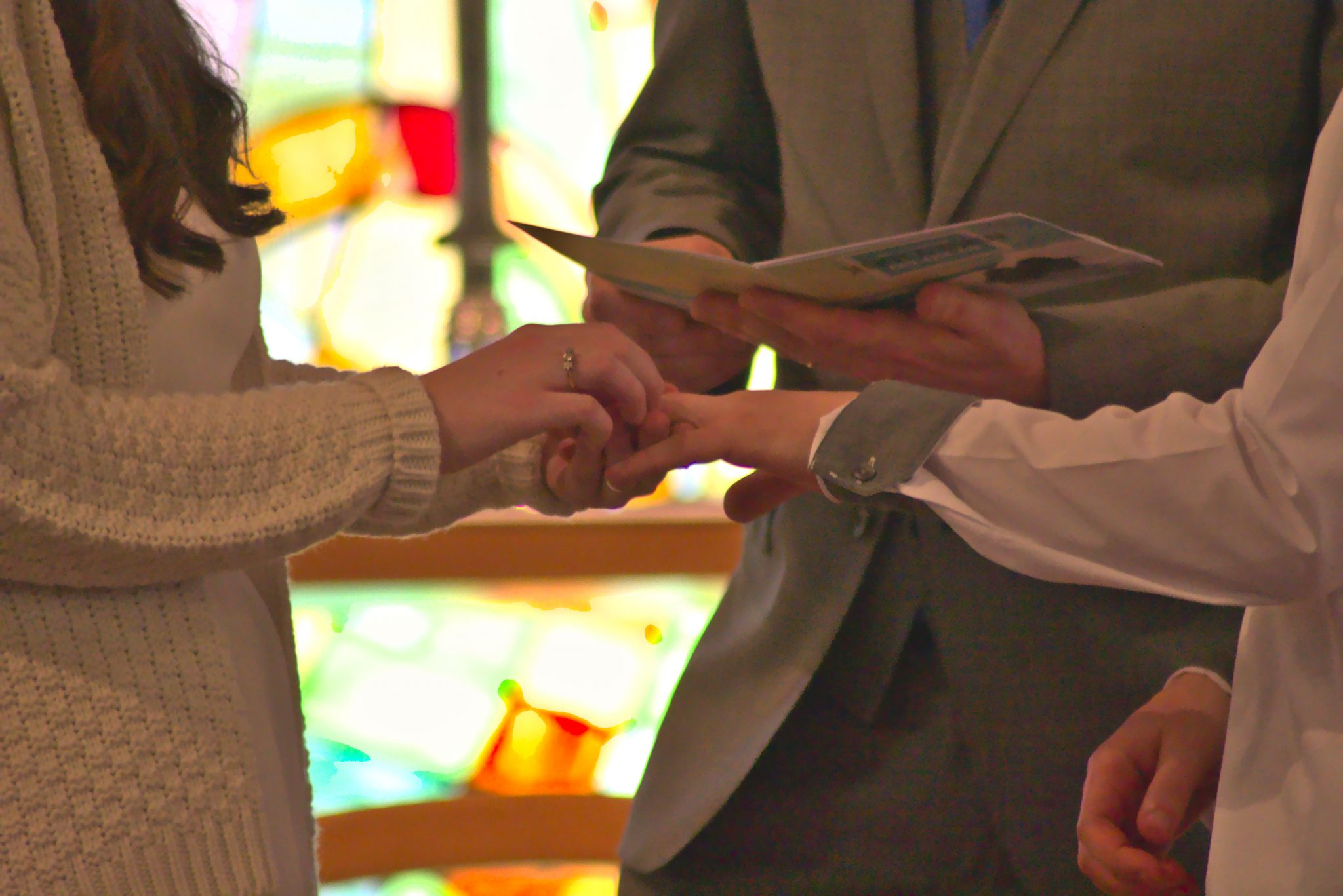 What a Messy Church wedding could look like
